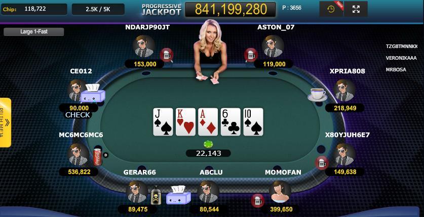 3. Poker